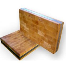 Masodeska z bukového dřeva 60x40x10 cm